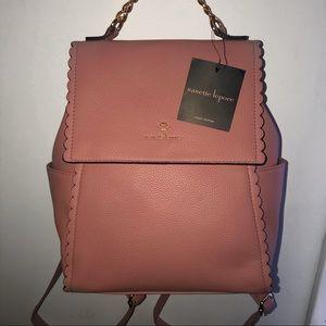 Nanette Lepore Mauve Chain Handle Bag